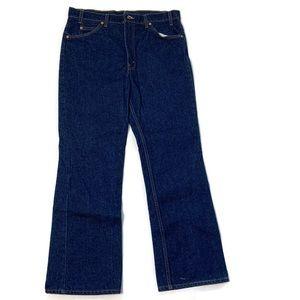 Levi's Plain Orange Tab 517 Blue Jeans 36x30